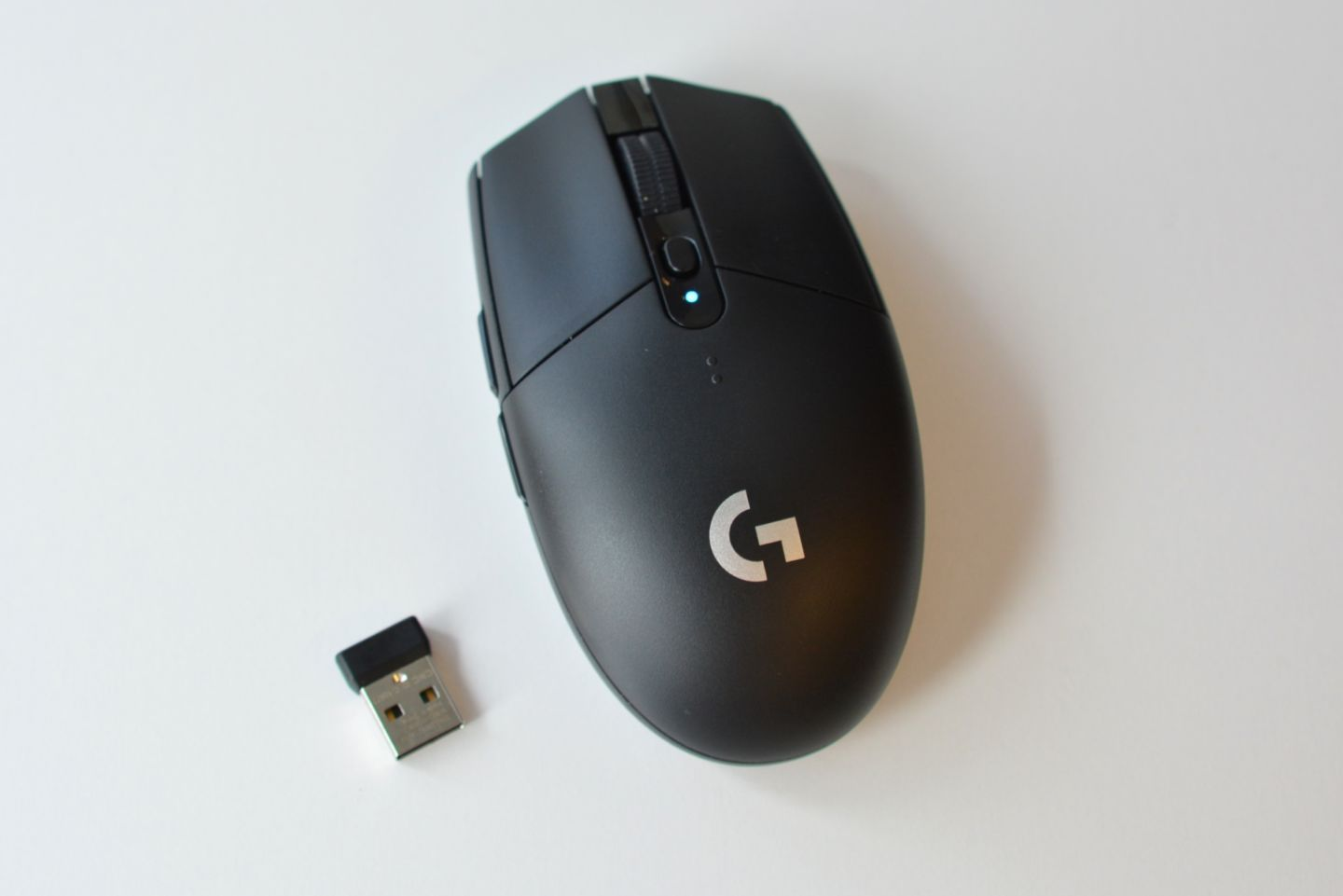 Logitech's G305 Lightspeed wireless gaming mouse.