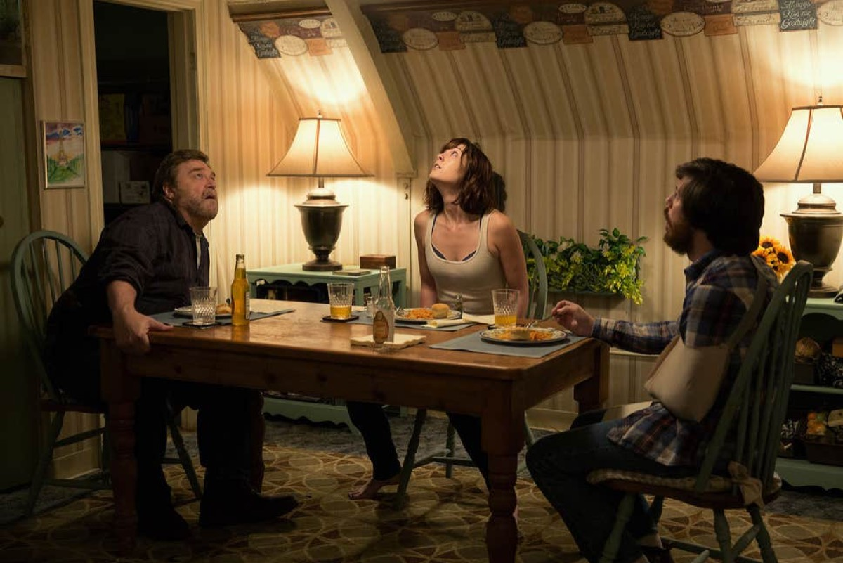<em>10 Cloverfield Lane</em> (2016) is the second installment in the franchise, in which a young woman is trapped in an underground bunker with two other survivors of a catastrophic event that has rendered the surface uninhabitable.
