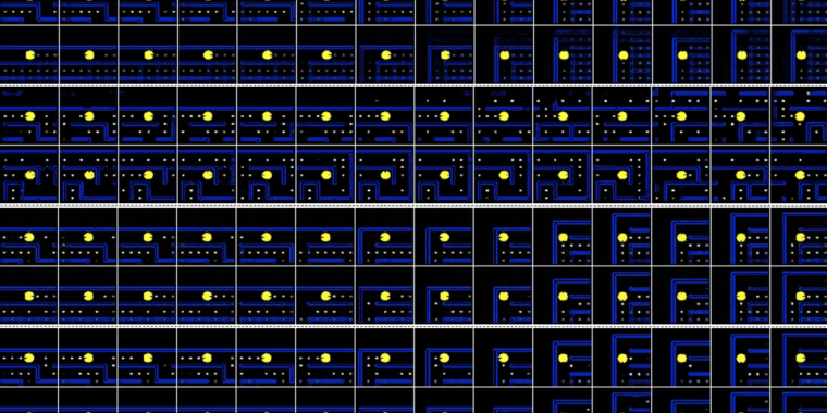 After watching 50,000 hours of Pac-Man, Nvidia's AI generated a playable clone thumbnail