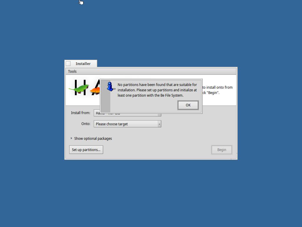 , En decideret ikke-Linux distro gennemgang: Haiku R1/beta2