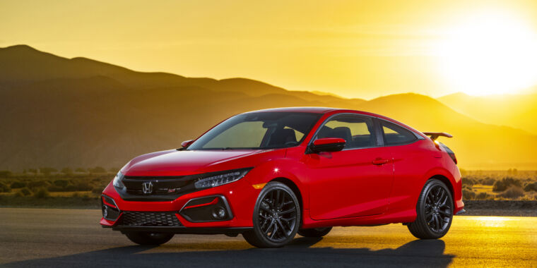 Honda's Civic Si is a car for people who wish they could drive a Gundam thumbnail