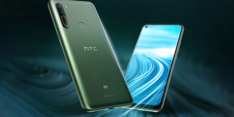 HTC's first 5G smartphone is packing a big 5,000mAh battery thumbnail