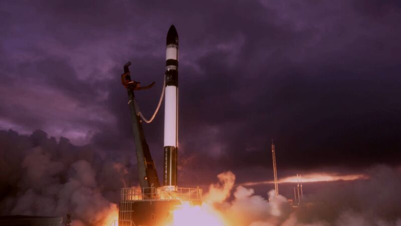 """The Electron mission lifts off Saturday for the """"Don't Stop Me Now"""" mission."""