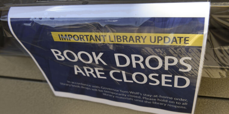 Lawsuit over online book lending could bankrupt Internet Archive