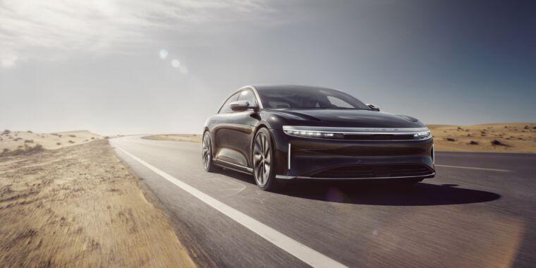 """Please don't describe us as a Tesla killer""—Ars talks to Lucid Motors thumbnail"