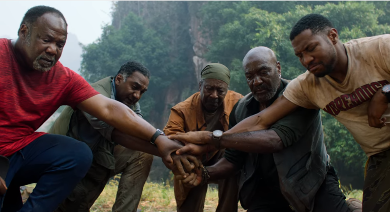 <em>Da 5 Bloods</em>, now playing on Netflix.