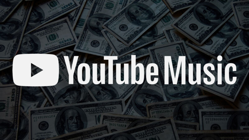 Welcome to YouTube Music. Please swipe your credit card here.