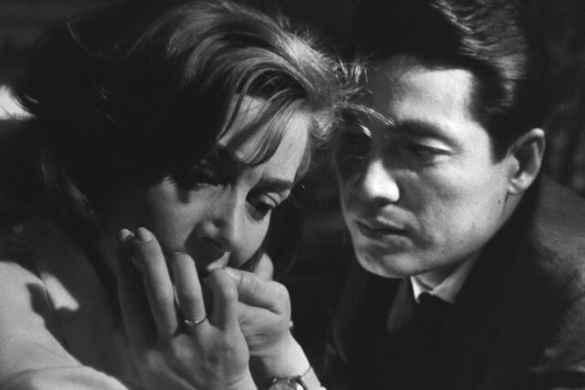 In <em>Hiroshima Mon Amour</em>, the bombing of Hiroshima is a metaphor for the wrenching end of an affair.
