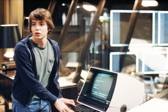 A young hacker (Matthew Broderick) accidentally accesses a US military supercomputer program to simulate nuclear war scenarios, believing it to be a computer game.