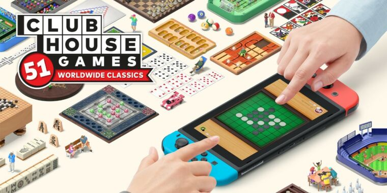 Clubhouse Games review: The Nintendo version of a '90s CD-ROM compilation thumbnail