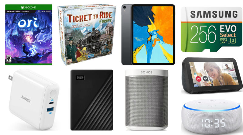 Today's best deals: Ticket to Ride, iPads, microSD cards, and more