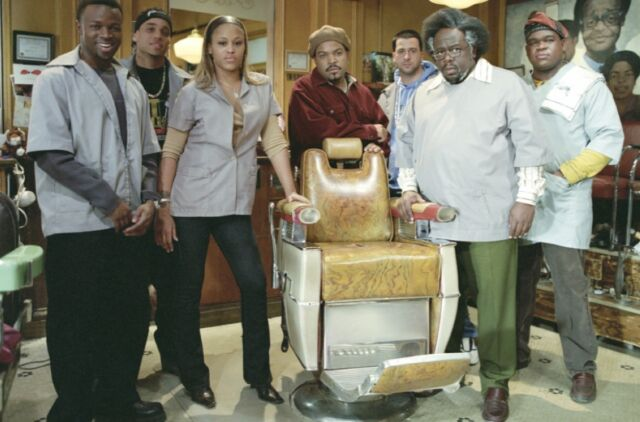 Chicago's South Side was the setting for the 2002 hit comedy <em>Barbershop</em>.