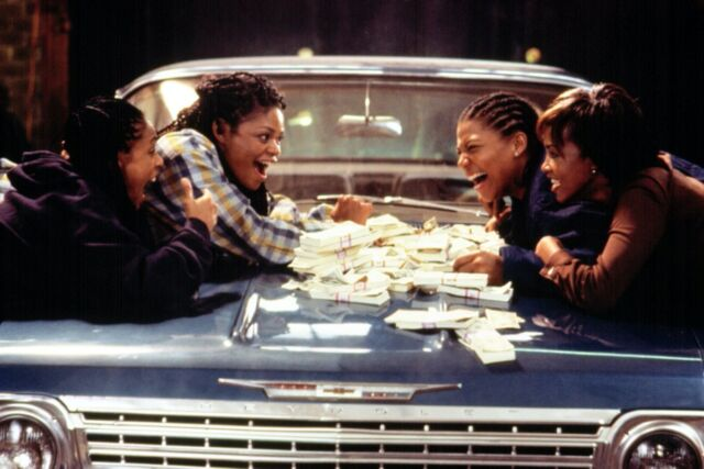 <em>Set It Off</em> is a classic bank-heist caper with four black female leads: Jada Pinkett, Queen Latifah, Vivica A. Fox, and Kimberly Elise.