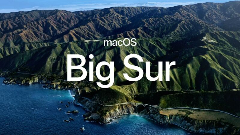 "Apple announces macOS 11, ""Big Sur,"" with an emphasis on design"