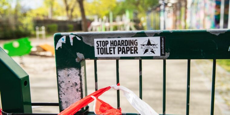 Study: People who hoard toilet paper are just looking for a symbol of safety thumbnail