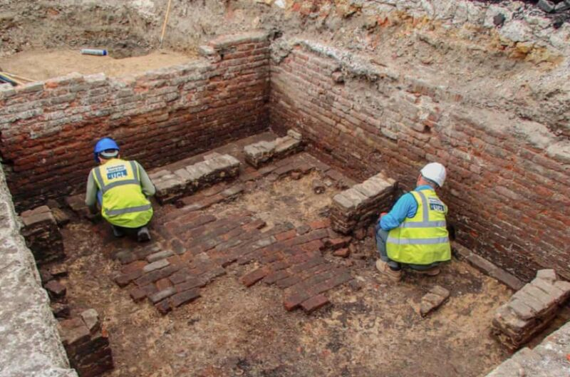 Archaeologists may have found site of the Red Lion, London's first playhouse