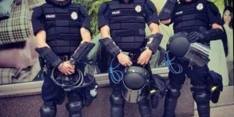 "Image of article 'Let's start a riot"": Denver cop fired for inflammatory Instagram post'"