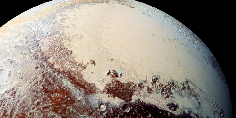 New model challenges idea that Pluto started out frozen thumbnail
