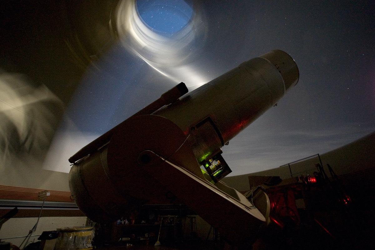 The Samuel Oschin Telescope at Palomar Observatory.