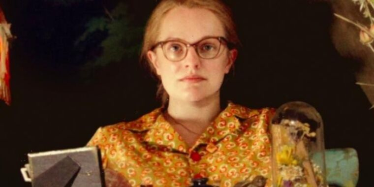Review: Elisabeth Moss gives a brilliantly subversive performance in Shirley thumbnail