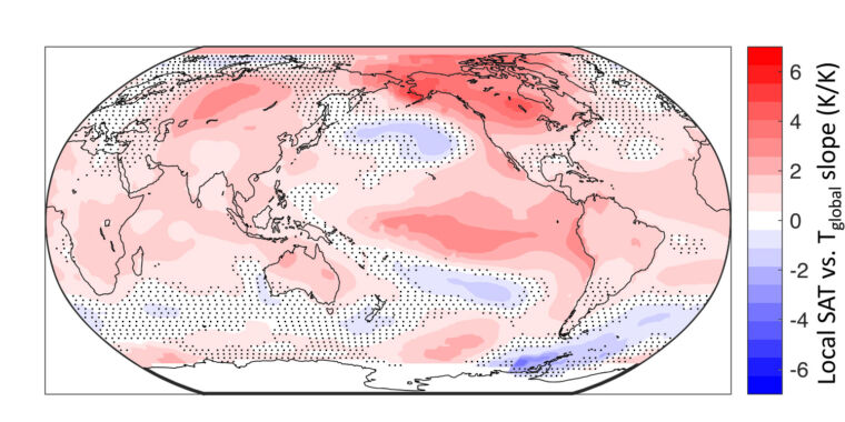 Can temperature patterns predict next year's global average? thumbnail