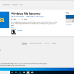 It shouldn't have been this difficult to find it—but finally, we're ready to install Windows File Recovery.