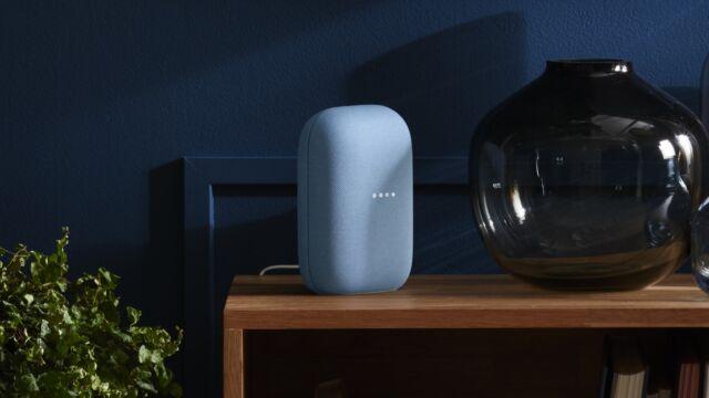 Google's new Nest smart speaker is all cloth