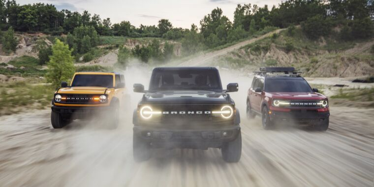 Ford brings back the Bronco SUV with a dizzying array of options