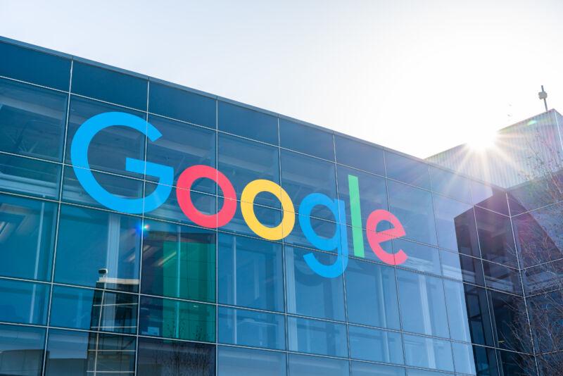 Google's corporate headquarters.