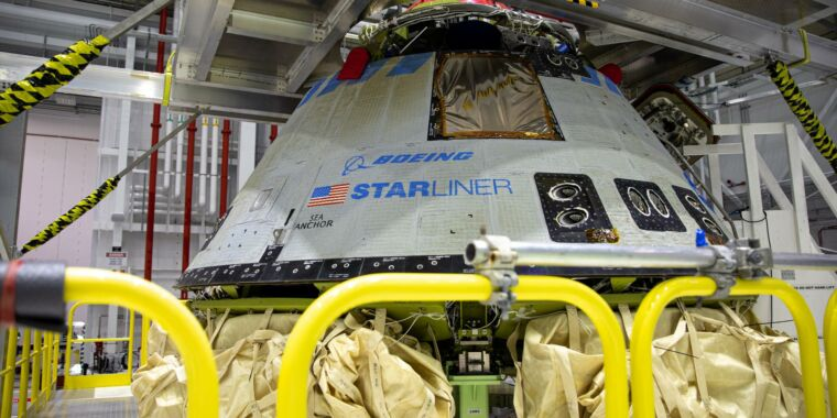 Independent reviewers offer 80 suggestions to make Starliner safer - Ars Technica