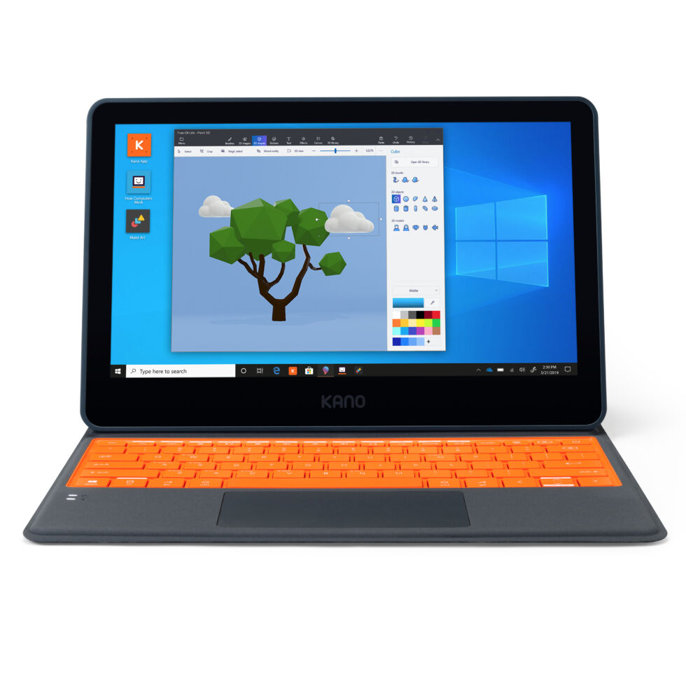 It's modular, it's cheap, it runs Windows—it's the $300 Kano tablet PC