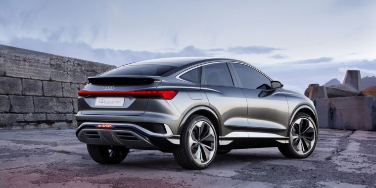 Audi to spend modular electric platform for midsize Sportback crossover thumbnail