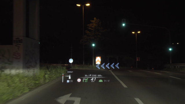 Augmented reality heads-up displays for cars are finally a real thing