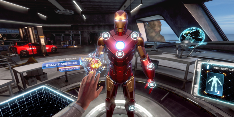 Iron Man VR review: A sad, painful end to the PlayStation VR era