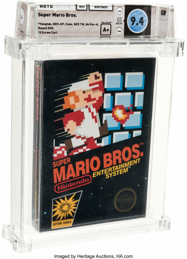 Why Is This Copy Of Super Mario Bros Worth A Record 114 000