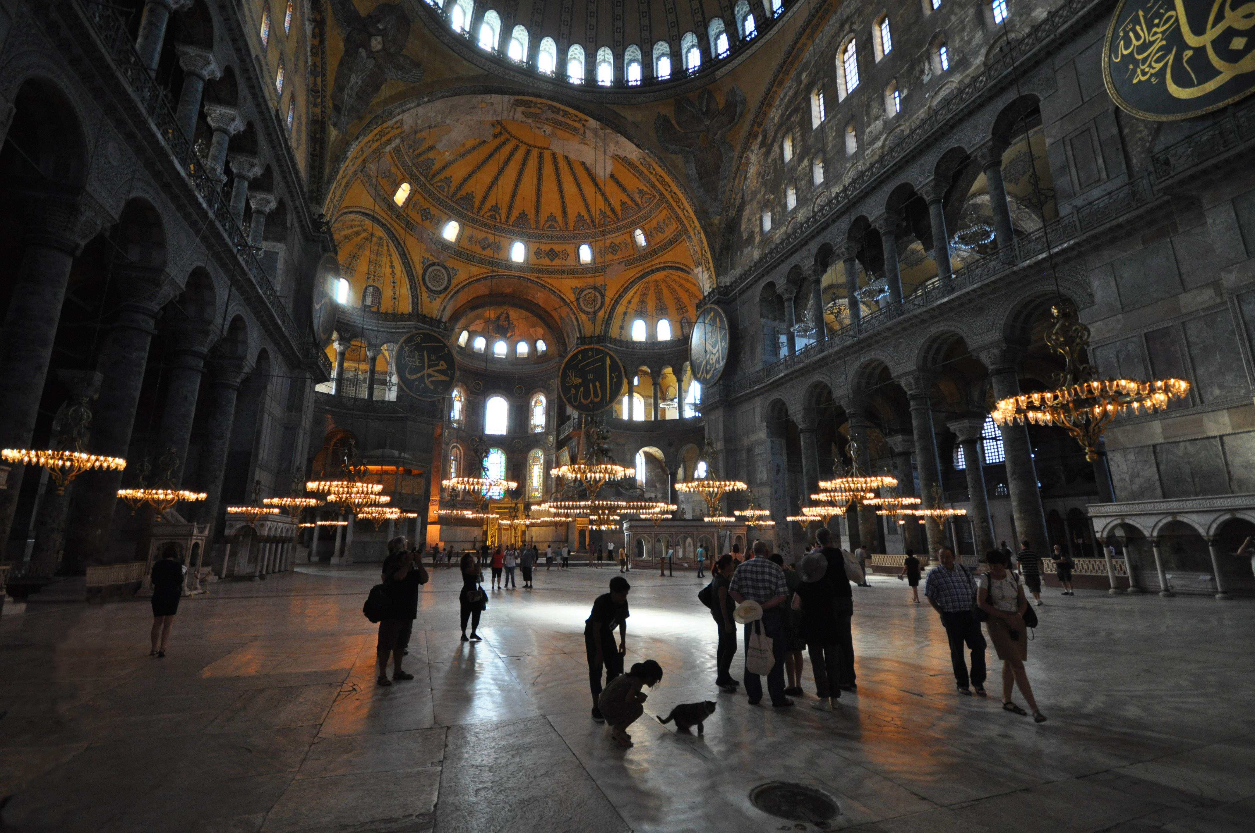 This isn't the first time the Hagia Sophia has been at the center of political turmoil.