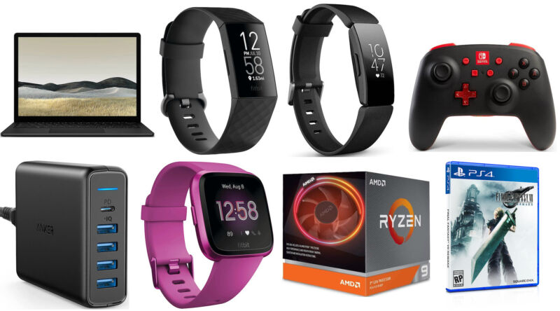 A handful of top Fitbit fitness trackers is on sale today