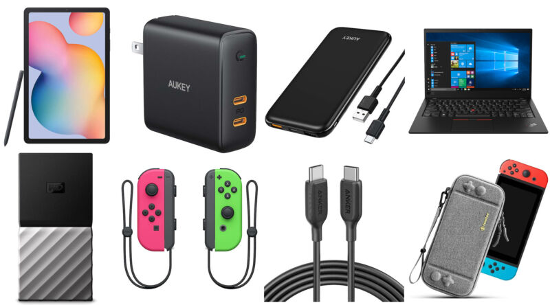 There are currently good USB-C chargers and cables on sale