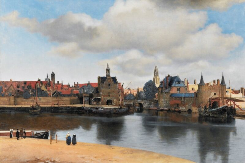 New analysis prompts rethinking of date, time for Vermeer's View of Delft