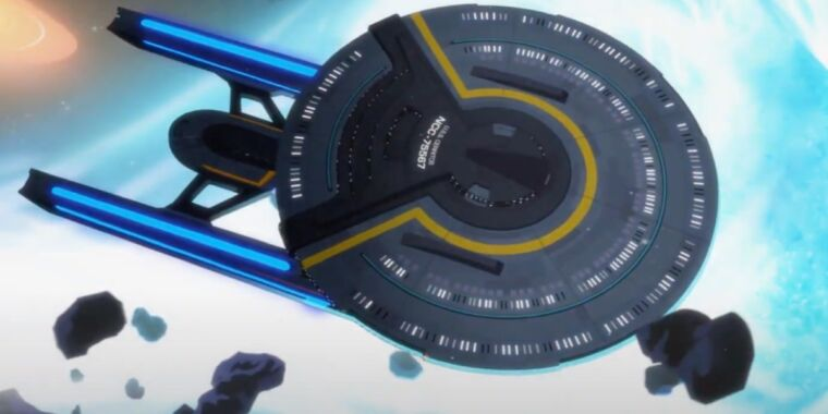 CBS drops first trailer for new animated series, Star Trek: Lower Decks