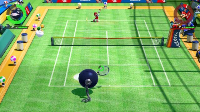 <em>Mario Tennis Aces</em>.