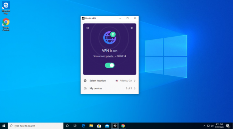 Mozilla's new Wireguard-based service offers a very simple, attractive, and cleanly functional VPN user interface.