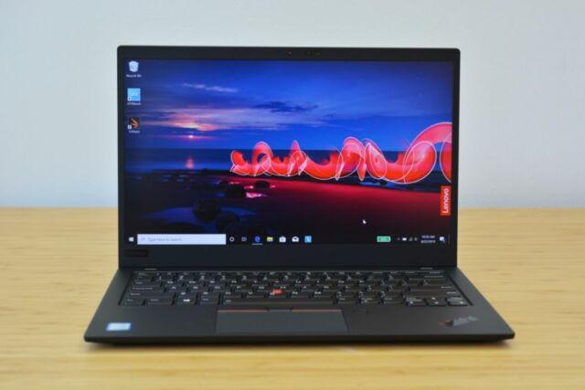 Lenovo's ThinkPad X1 Carbon ultrabook.