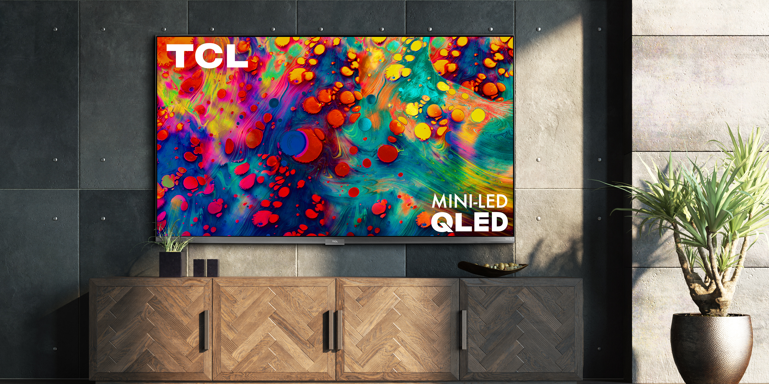 TCL's new 6-Series QLED Roku TVs come with mini-LED backlights.