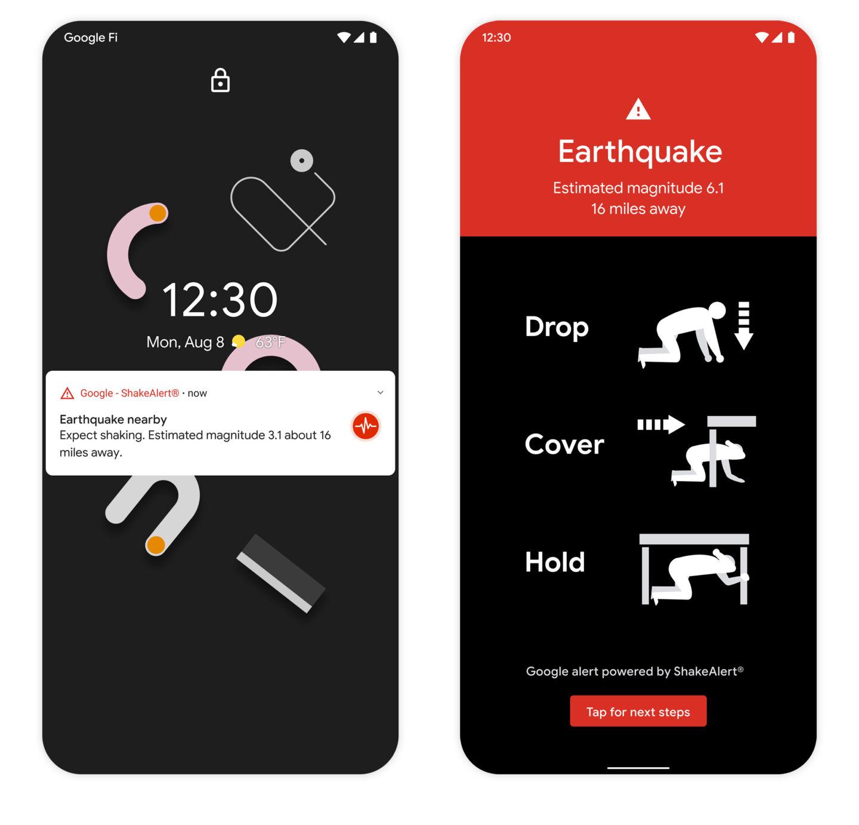 Android es ahora la red de detección de terremotos más grande del mundo  El sist