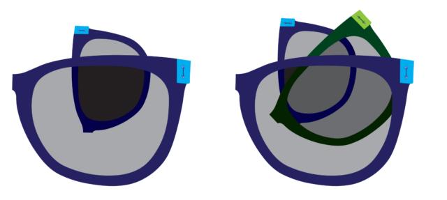 Riorganizzare gli occhiali fa una grande differenza.
