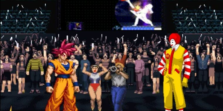 How the MUGEN community built the ultimate fighting game crossover