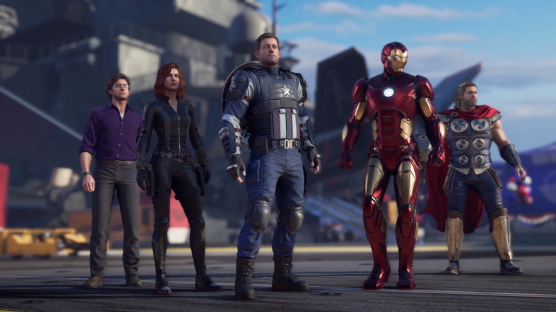 Avengers assemble—in their newest video game.