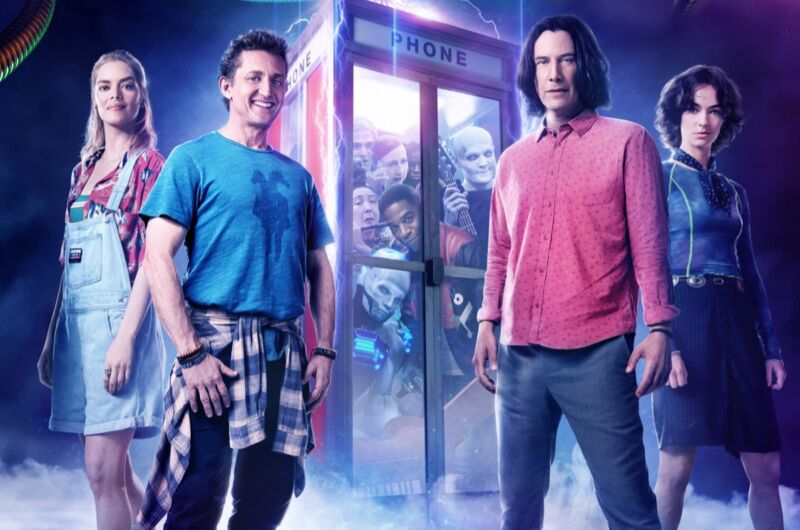 Alex Winter and Keanu Reeves reprise their iconic roles in <em>Bill and Ted Face the Music</em>.