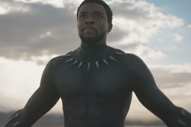 Wakanda forever! Chadwick Boseman's rising star shot into the stratosphere when he took on the role of T'Challa in <em>Black Panther</em> (2018).